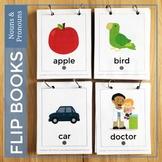 Flip Books Nouns and Pronouns (visuals for grammar and language development)