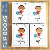 Action Verb Flip Books   Present tense    Past Tense    Future Tense Verbs