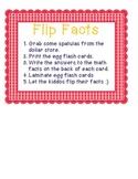 Flip Egg Flash Cards