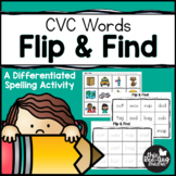 Flip & Find CVC Spelling Activity