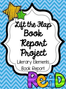 Flip Flap Book Report Project