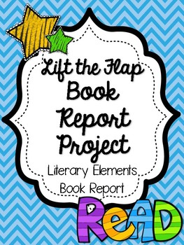 Lift the Flap Book Report Project