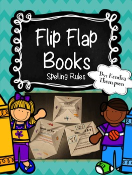 Flip Flap Books: Spelling Rules