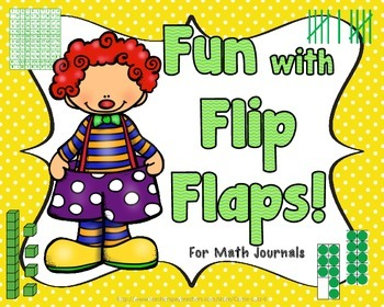 Fun With Flip Flaps  Numeracy Practice For Math Journals