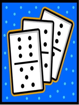 Preprinted Flip Flap Domino Subtraction Flashcards and Games