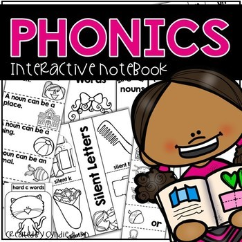 Phonics Interactive Notebook