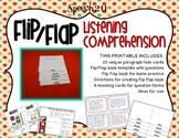 Flip Flap Listening Comprehension
