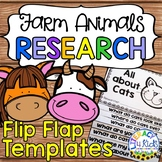 Farm Animals Research Project Templates Flip Flap Booklets