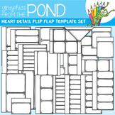 Flip Flap Template Set - Heart Detail