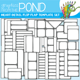 Flip Flap Template Set - Heart Detail