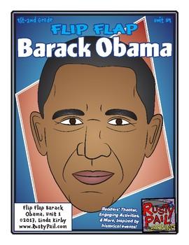 Flip-Flap's: Barack Obama readers' theater (1st & 2nd Grades)