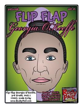 Flip-Flap's: American Artist - Georgia O'Keeffe readers' theater (3rd Grade)