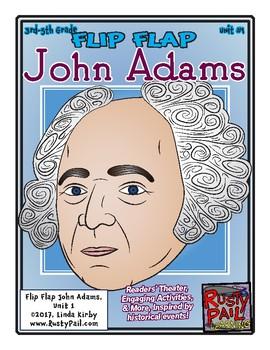 Flip-Flap's: President John Adams readers' theater (3rd-5th Grades)