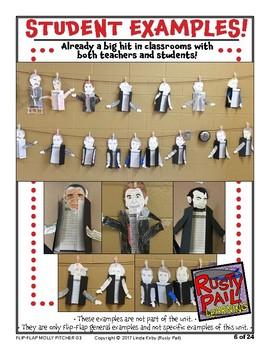 Flip-Flap's: Revolutionary Heroine: Molly Pitcher readers' theater (3rd Grade)