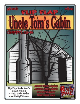 Flip-Flap's: Uncle Tom's Cabin - readers' theater - unit 3 (5th Grade)