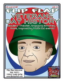 Flip-Flap's: Veterans Day History readers' theater (1st & 2nd Grades)