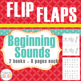 Flip Flaps - Beginning Sound Self-Checking Practice Books