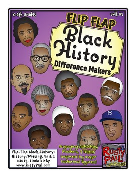 Flip-Flap's: Black History Difference Makers (K-6th Grades)