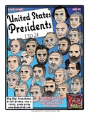 Flip-Flap's: US Presidents 1-24 (K-6th Grades)