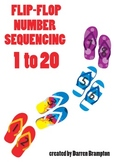 Flip Flop 1 to 20 Number Sequencing