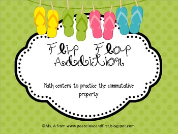Commutative Property - Flip Flop Addition!
