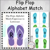 Flip Flop Alphabet Match Uppercase to Lowercase