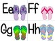 Flip Flop Alphabet (Word Wall Tags)