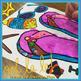 Articulatlon Dot Art for Summer (NO PREP flip flops}
