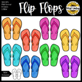 Flip Flop Beach Summer Clip Art MOVABLE IMAGES