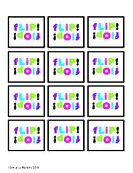 Flip! Flop!  CVCe (Bossy e)  word and Phoneme Segmentation Game