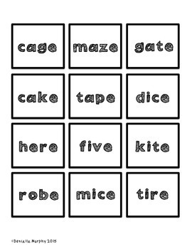 Bossy E Word and Phoneme Segmentation Game