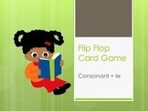 Flip Flop Card Game (Consonant + le)