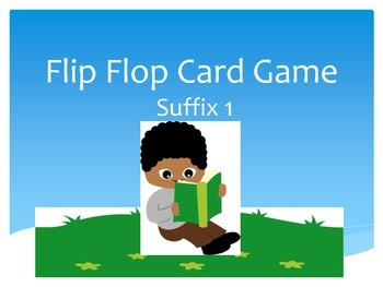 Flip Flop Card Game (Suffix 1)