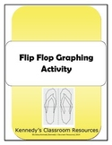 Flip Flop Coordinate Graphing - Great for an End-of-Year Activity!