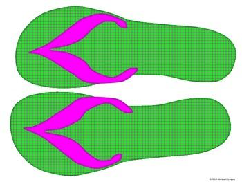 Flip Flop Cutouts