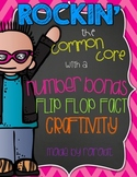 Flip Flop Facts! {Number Bond Craftivity}