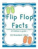 Flip Flop Facts: Teaching the Commutative Property in Gra