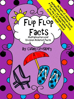 """""""Flip Flop Facts"""" multiplication and division related facts"""