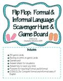 Flip Flop Formal or Informal Language Activity Package