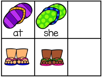 Flip Flop Fry's First 50 Sight Word Game
