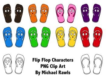 Flip Flop Fun Clip Art Collection