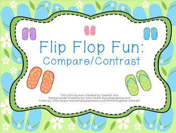 Flip Flop Fun: Compare/Contrast