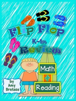 Flip Flop Fun  Kindergarten and  1st Grade Literacy and Ma