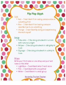 Flip Flop Glyph Fun