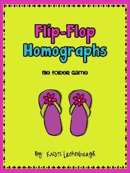 Flip-Flop Homographs-File Folder Game