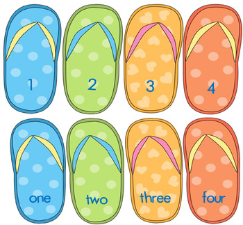 Flip Flop Number Match-Up