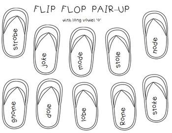 Flip-Flop Pair-Up  (Short Vowels & Long Vowels)