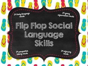 Flip Flop Social Language Skills