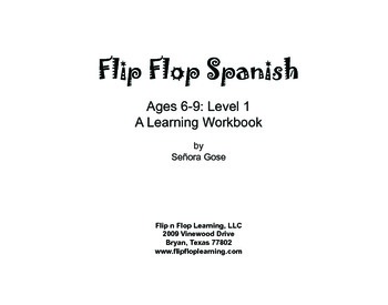 Flip Flop Spanish: Ages 6-9 Level 1