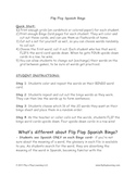 Flip Flop Spanish Bingo - 12 games